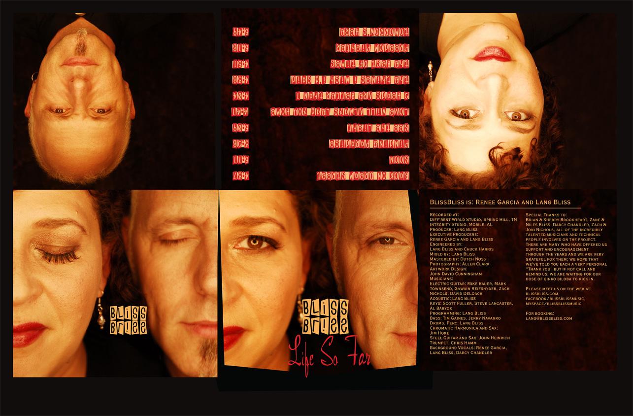BlissBliss Life So Far - CD 6 Panel