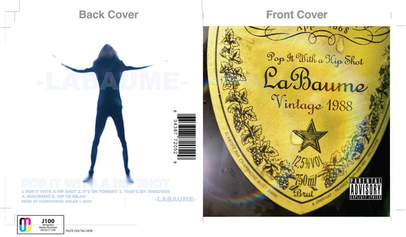 LaBaume Pop it with a Hip Shot - CD