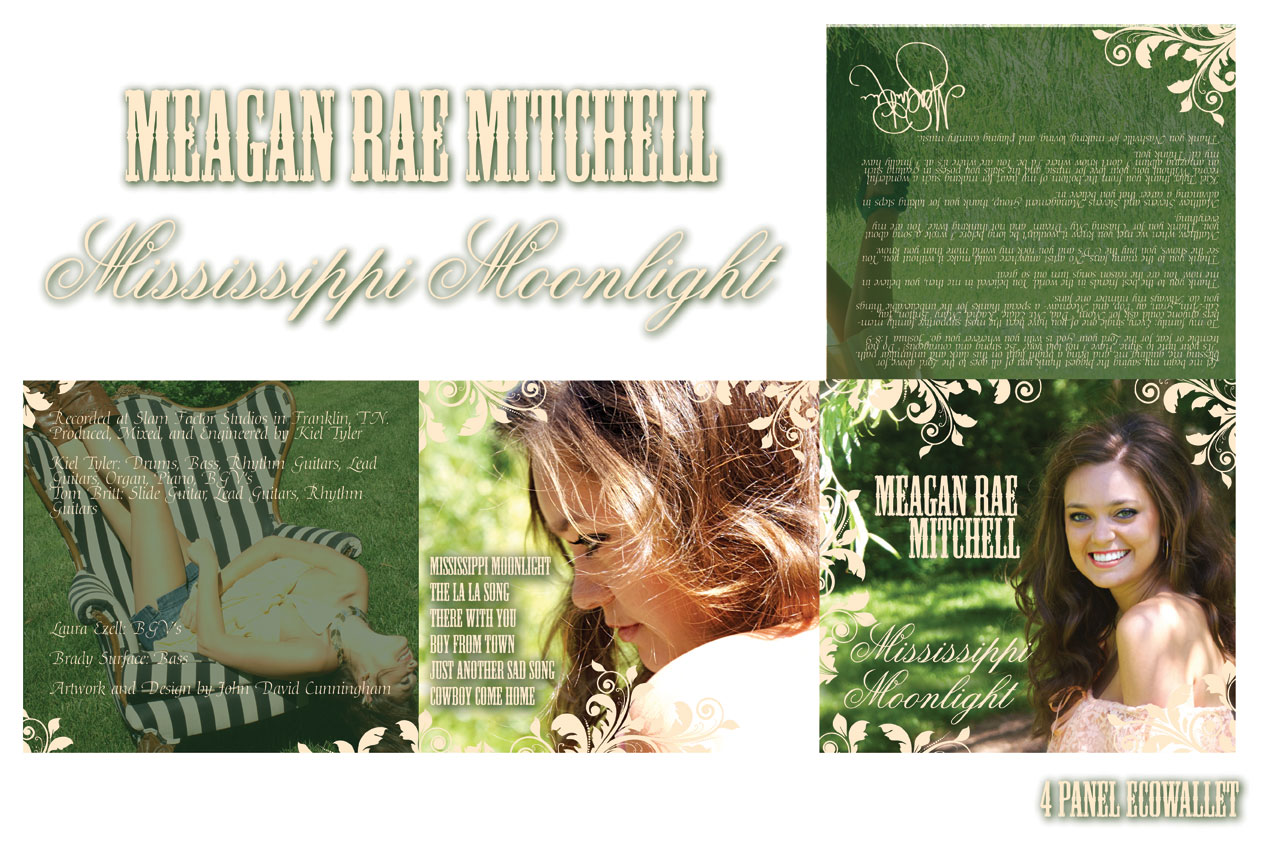 Meagan Rae Mitchell - CD 6 Panel